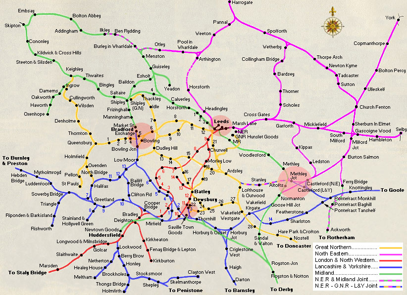 Leeds City Region Metro System Skyscrapercity: Uk Train System Map At Infoasik.co